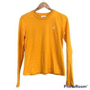 TNA Long Sleeve T-Shirt Deep Orange Yellow
